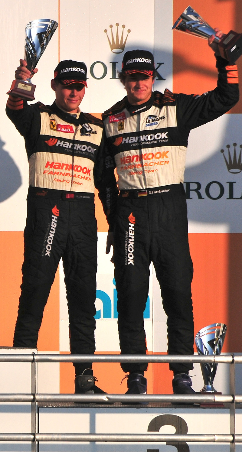 Allan Simonsen got 3rd Place at 2009 Asian Le Mans in Japan