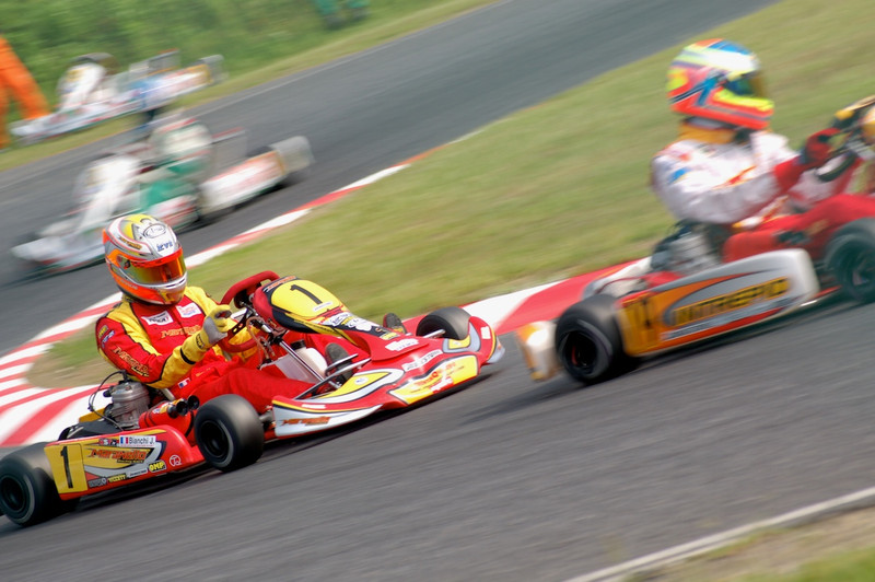 Jules Bianchi in 2006 Kart World Cup at Suzuka