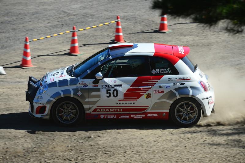 眞貝知志/田中直哉 ABARTH 500 Rally R3T