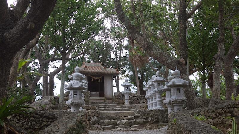 石垣島 川平観音堂
